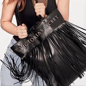Victoria's Secret Faux Leather Fringe Tote